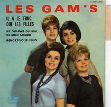 LES GAM'S IL A LE TRUC FRENCH ORIG EP JACQUES DENJEAN