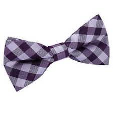 Cravates, foulards et ceintures de cérémonie nœuds papillons violets pour homme