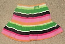 EUC Gymboree Cheery All the Way Striped Fleece Skirt Size 5