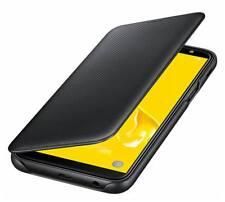 Original Samsung Galaxy J6 2018 Flip Wallet Funda Cubierta EF-WJ600 Funda