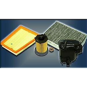 Inspektionskit Filter Satz Paket S FORD FIESTA V FUSION  1,6 TDCi 90PS