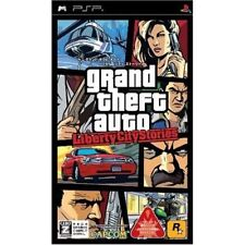Used PSP Grand Theft Auto Libert City Stories  GTA SONY PLAYSTATION JAPAN IMPORT