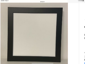 CREATIVE MEMORIES EVERYDAY DISPLAY BOARD BLACK  17 X 17 12 X 12 PAGES FIT NIB