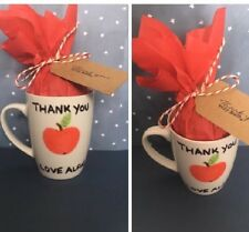 Teachers Personalised Mugs Cups Thank You Christmas Gift Apple For The Teacher