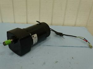 Bodine Electric Gearmotor 4583ARFB0015, 42A5FEPM-E3, 130 V, DC, 1.8 A, 1/4 HP...