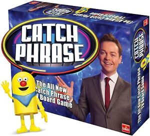 Goliath Games Catchphrase Board Game Play The TV Game Show in Your Home GL60058