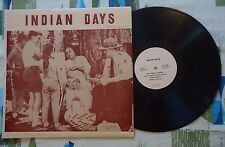 Mrs. Selena La Marr LP Indian Days 1960 Native American Oral History VG+/VG+