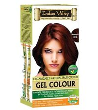 Indus Valley Organically Natural Herbal Gel Hair Color Burgundy 3.6