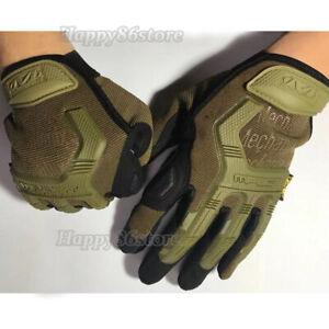 Mechanix M-Pact Tactical Gloves Military Shooting Bike Race Sport Mechanic Wear