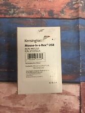 NEW Kensington Mouse-In-A-Box