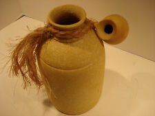 Yellow Clay Pottery Jug Kahl Creation