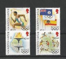 MONTSERRAT SG876/9, 1992 OLYMPICS MNH