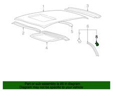 8288439000 NEW HYUNDAI OEM REAR RIGHT LOWER MOULDING CLIP for XG300/XG350