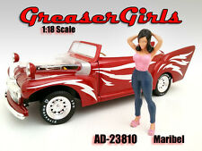"Figurine "" Maribel "" Greaser Girl, American Diorama Figurine 1:18, AD-23810"