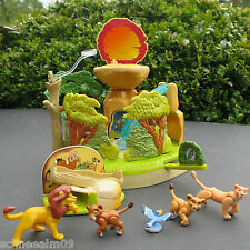 Mini Polly Pocket Disney König der Löwen Lion King Playset 100% Komplett