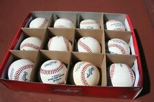 Dozen Rawlings Minor League Baseballs New But Rubbed Up, No Box