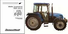 Landini Atlantis 70 75 80 85 90 100 / Ghibli Tractor Service Training Manual CD