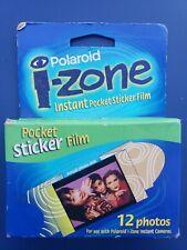 Polaroid izone Instant Pocket Sticker Film 12 Photos (As-Is)
