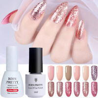 Nail UV Gel Polish Nail Art Rose Gold Pink UV Gel Varnish Soak off Born Pretty