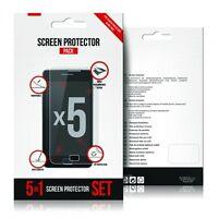 SET 5 PELLICOLE PROTEGGI SCHERMO DISPLAY LCD per HTC ONE 2 M8