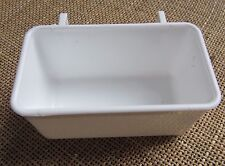 2 hook drinkers rectangular  , 12 of   with plastic hooks