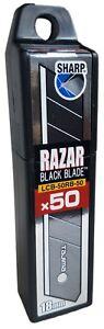 TAJIMA Abbrechklingen LCB50RB-50H Razar Black 18mm