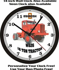 1959 OSHKOSH W826 18 TON TRACTOR TRUCK WALL CLOCK-FREE USA SHIP!