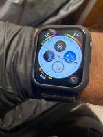 Apple Watch Series 4 44 mm Space Gray Aluminum Case with Black Sport Loop (GPS +