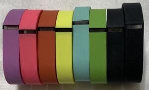 Fit Bit Flex Bands (Bands Only) Multicolored