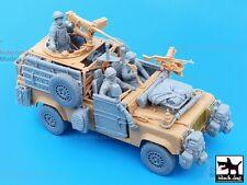 Accesorio de resina fundido 1:35 por Perro Negro ~ T35051 British Land Rover Defender Wolf