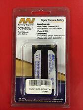 Digital Camera Battery Pentax EI-D-Li1. Hewlett Packard C8872A equivalent - BNIB