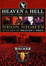 Heaven and Hell: Neon Nights - Live at Wacken [801213021895] DVD Complete