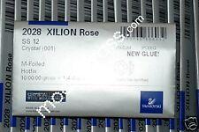 1440 Swarovski® HOTFIX Strasssteine 2028 Kristall SS12