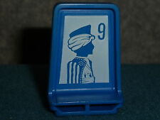 BOARD GAMES PARTS PLAYING PIECE BLUE #9 SCOUT FOR ELECTRONIC STRATEGO GAME