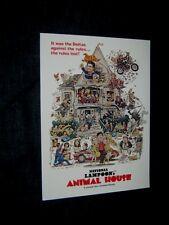 Original ANIMAL HOUSE Poster Art Press Kit Program Brochure JOHN BELUSHI