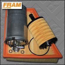 Kit De Servicio De Vw POLO (9N) 1.9 Sdi Fram Aceite Aire filtros de combustible (2001-2005)