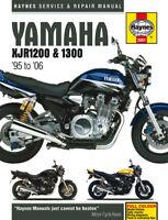 Yamaha XJR1200 XJR1300 1995-2006 Haynes Manual 3981 NEW