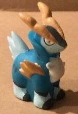 2011 Pokemon Finger Puppet Cobalion Figure Gotta Catch Them All Nintendo Bandai
