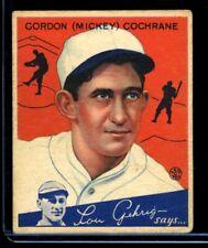 1934 Goudey MICKEY COCHRANE Tigers #2 VGEX/EX