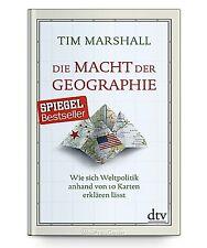 Die Macht der Geographie von Tim Marshall * Taschenbuch Neu