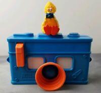 Big Bird 3D Camera Blue Toy CBS Inc Vintage