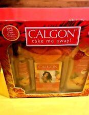 Calgon Take me away Hawaiian Ginger 4 piece Gift box set  Body Mist Wash Beads
