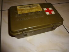 US ARMY VIETNAM FIRST AID CASE + DRESSING MEDICAL INSTRUMENTS GENERAL PURPOSE a1