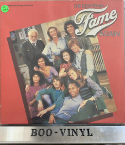 The Kids From Fame Again Soundtrack LP Vinyl Record Original 1982 pressing Ex+