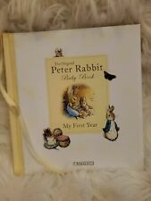 The Original Peter Rabbit Baby Book - My First Year (Baby Record Book) Not Used