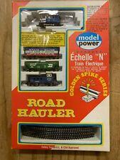"Model Power, Golden Spike Edition, ""N"" Scale Road Hauler Electric Train Set"