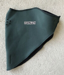 Stormkloth Ski Wind Winter Neck Warmer Size S/ M Snow Zone Breathable Face Mask