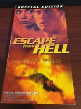 Escape From Hell (VHS) Thriller Special Edition DRC Productions RARE