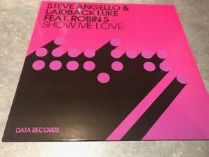 """STEVE ANGELLO & LAIDBACK LUKE FT. ROBIN S SHOW ME LOVE 12""""  MULTI TRACK EP 2009"""