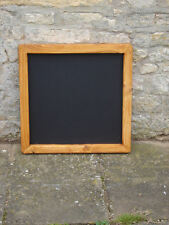 Chalkboard Blackboard large wooden shabby chic 600 x 600 Antique Pine